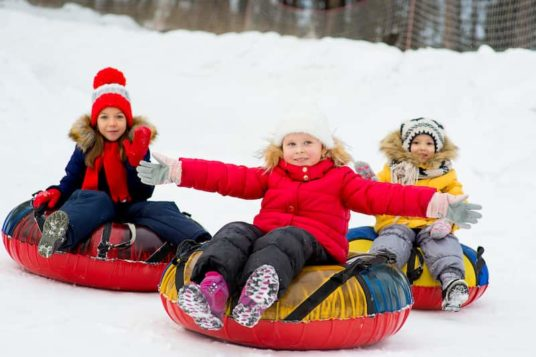 Snowtubing Enfants