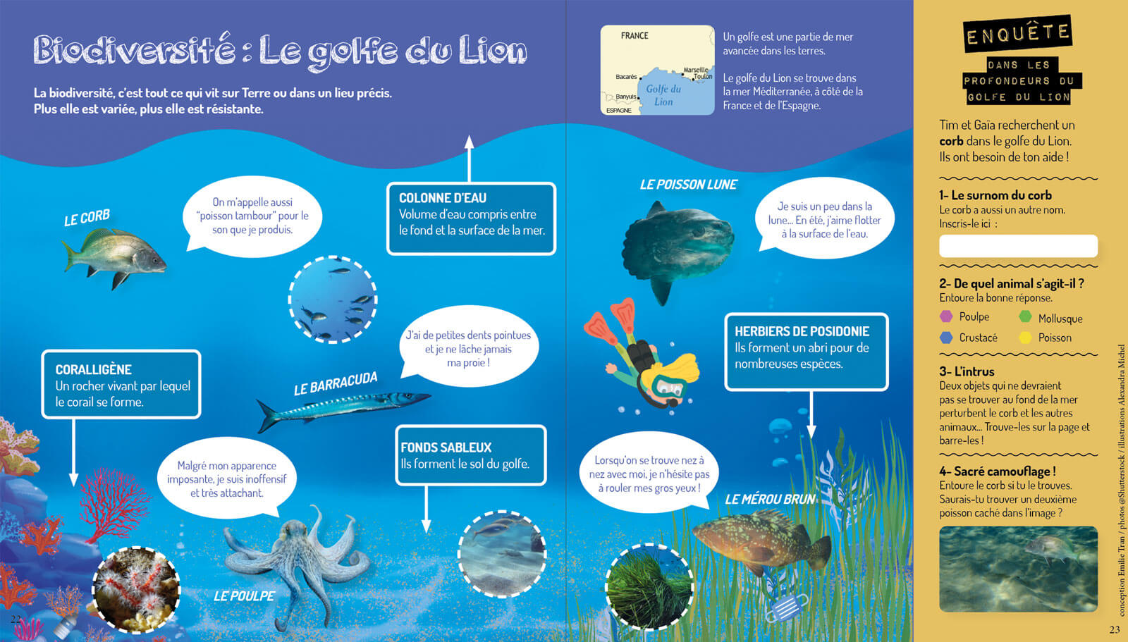 Biodiversité Golfe du Lion