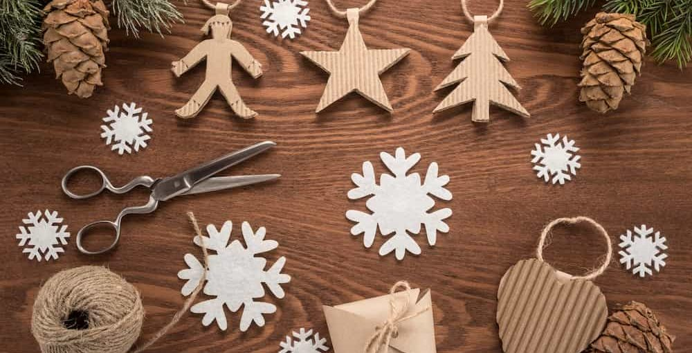 Décorations de Noël avec de la Récup' : 9 idées à réaliser en Famille