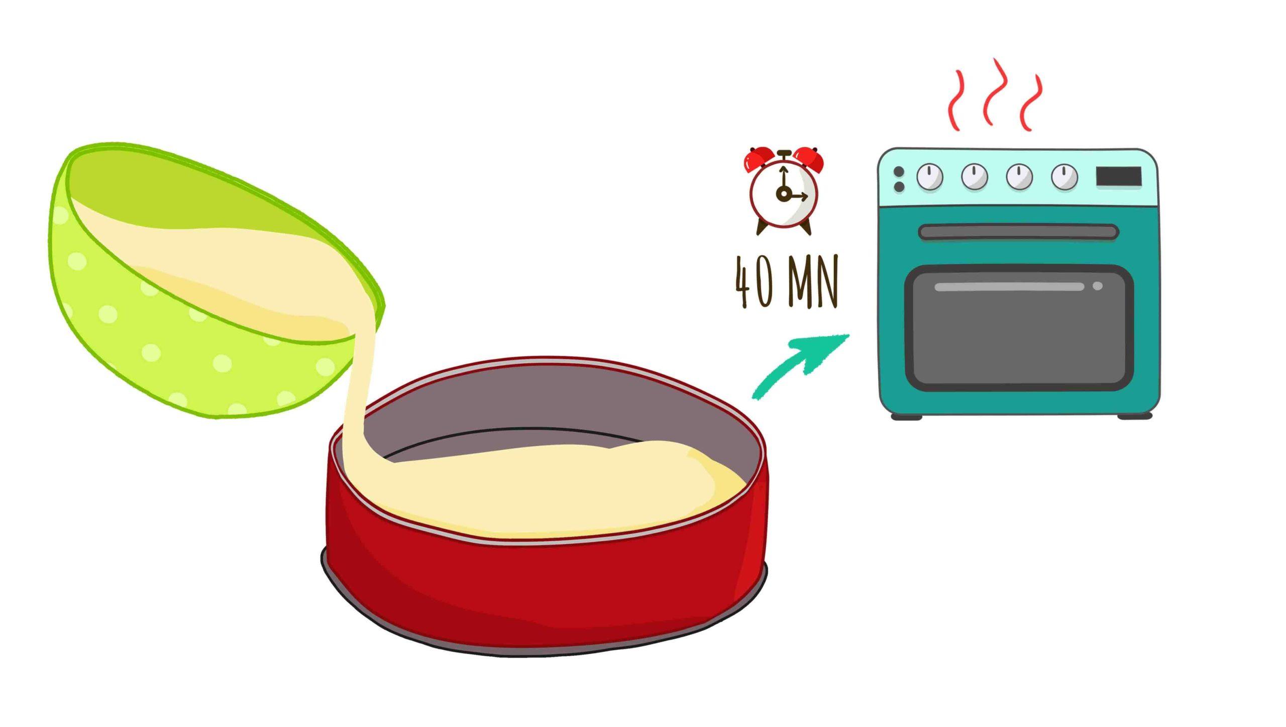 Etape 5 Gâteau Carotte