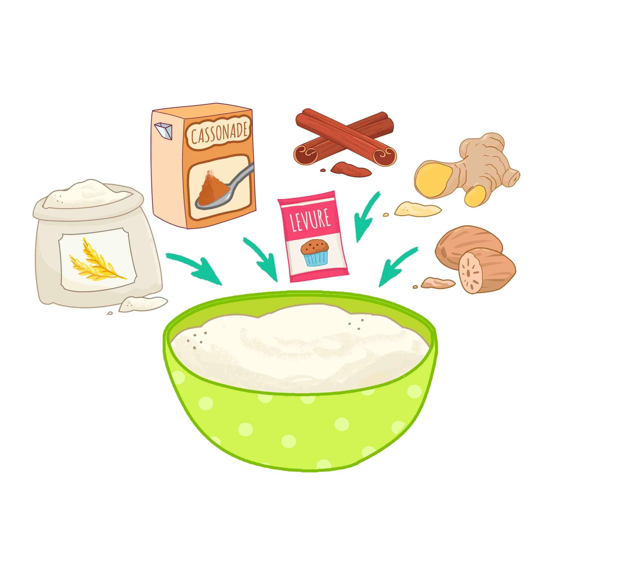 Etape 3 Gâteau carotte Touk Touk