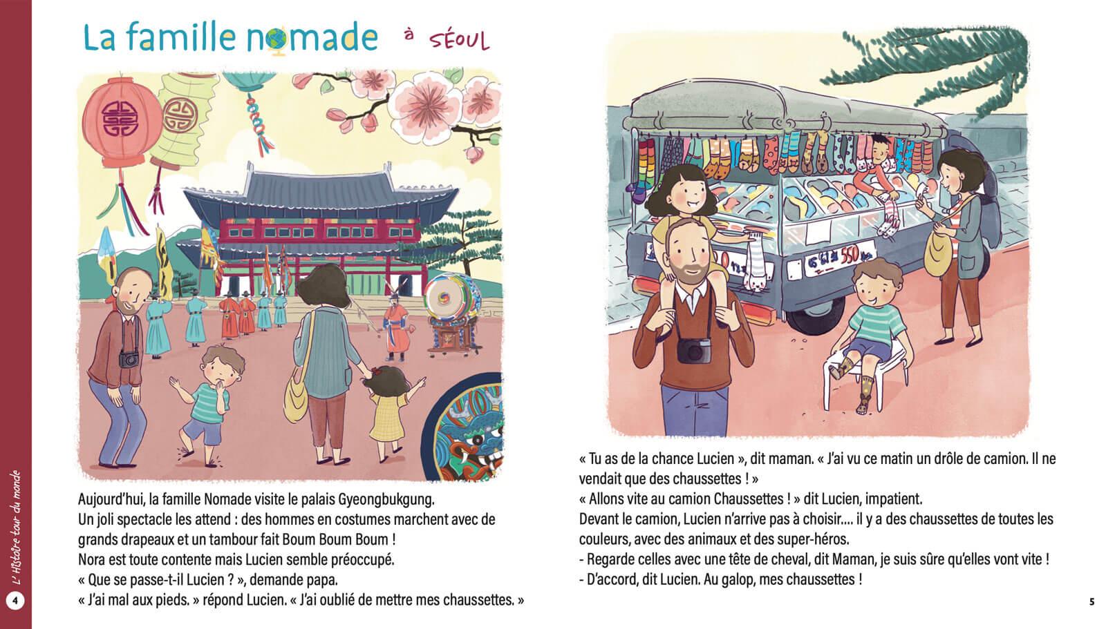 Histoire Famille Nomade à Séoul