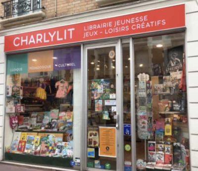 Vitrine Librairie Charlylit