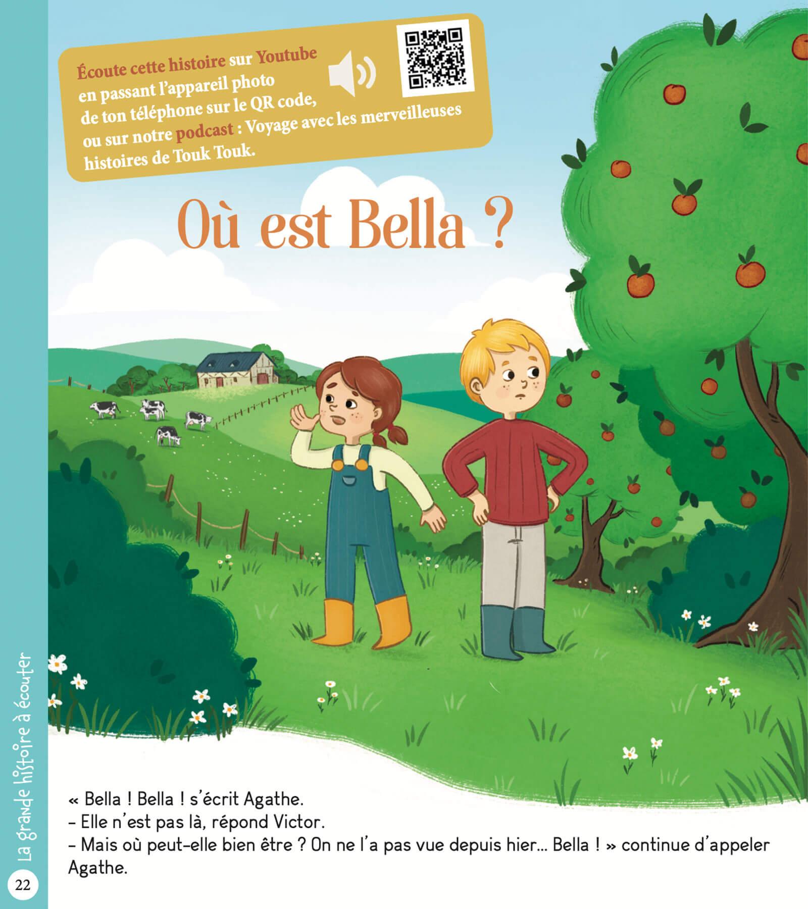 """Histoire """"Où est Bella ?"""""""