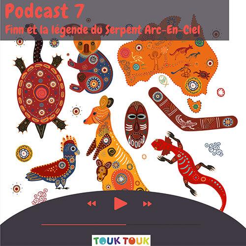 Podcast 7 : Finn et la légende du Serpent Arc-en-ciel