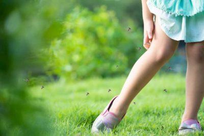 Protection moustiques enfant