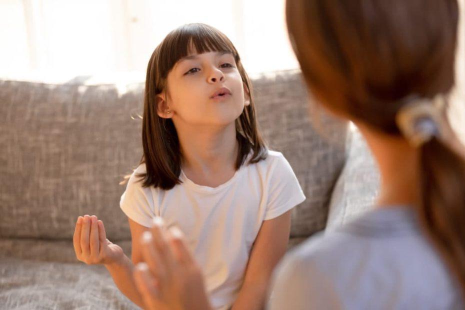 Retard de parole chez l'enfant