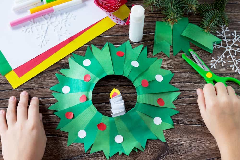 Carton bricolage Noël