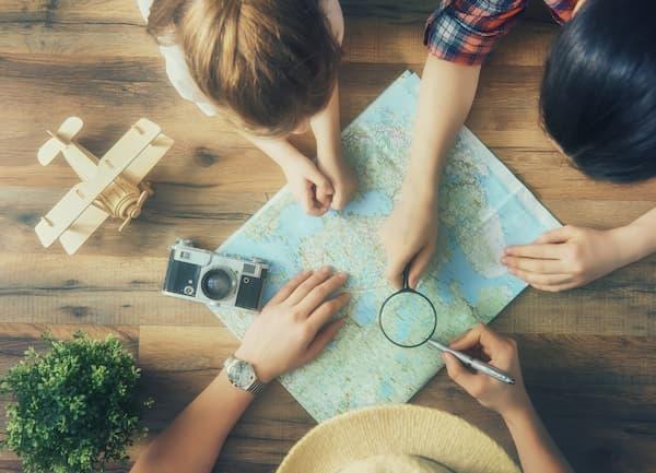 Plan voyage