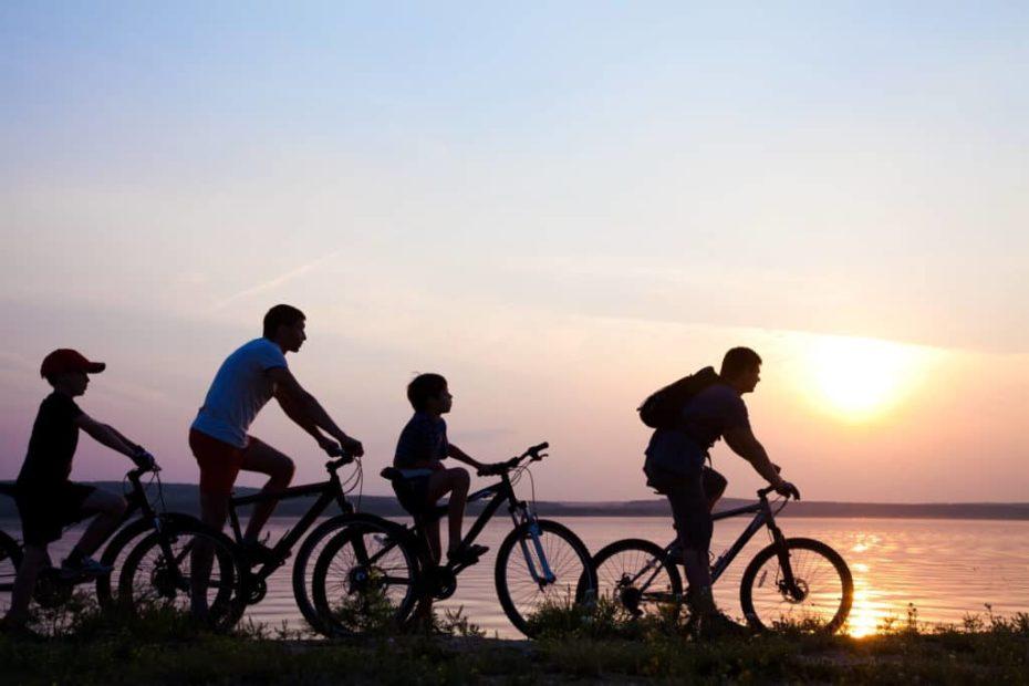 Voyage en vélo en famille