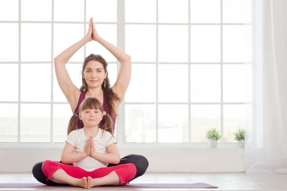 Yoga parent et enfant