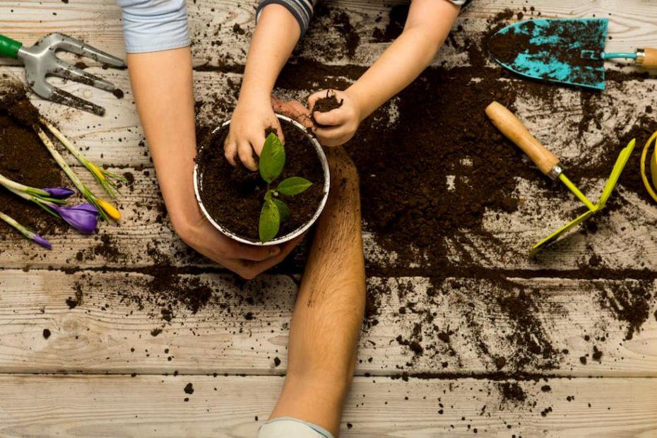 Apprendre le jardinage aux enfants