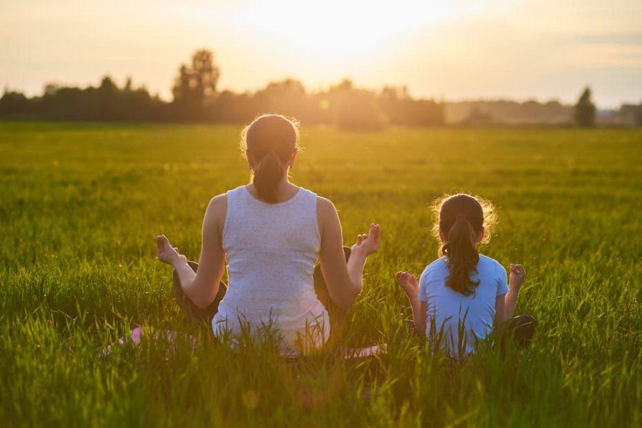 Faire de la méditation avec un enfant
