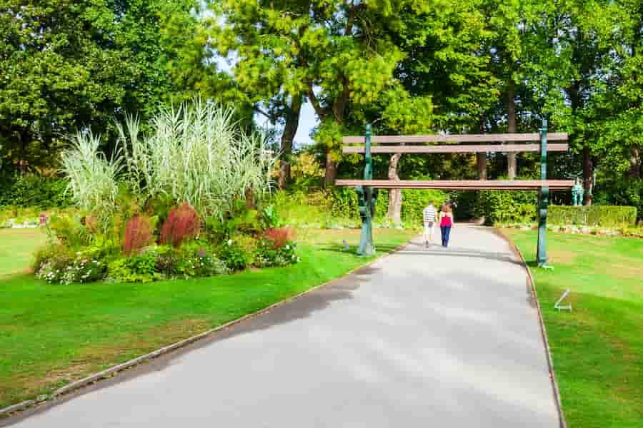 Jardin des plantes à Nantes à visiter avec des enfants