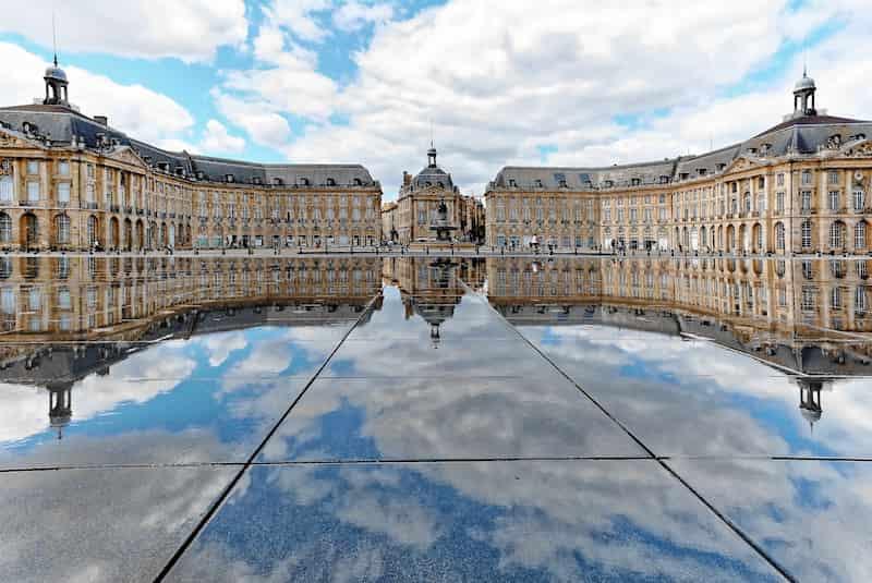 Bordeaux avec des enfants le miroir d'eau