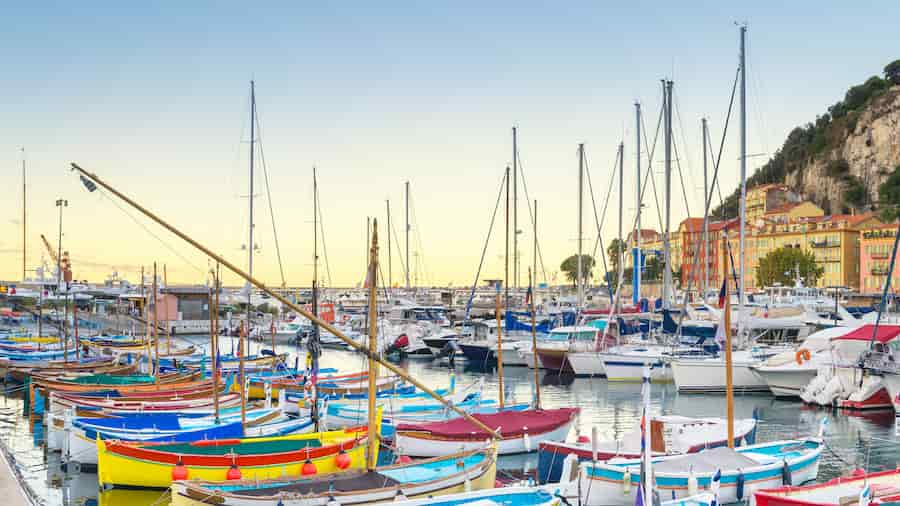 Visiter le port de Nice en famille