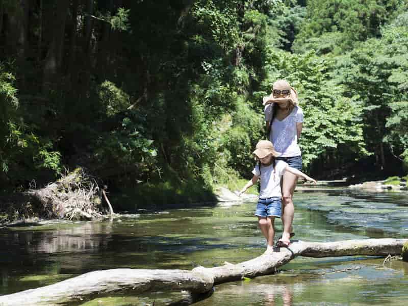 Vacances écologiques avec ses enfants
