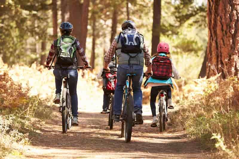 Vacances nature en famille à vélo